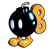 Super Mario Bros. - Bob-omb Photographic Print