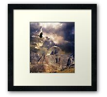 Wonder, Glory and Survival. Framed Print