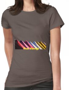 Feel the Sun! Womens Fitted T-Shirt