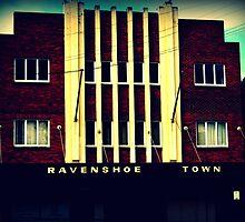 Ravenshoe Town Hall by Vanessa Barklay