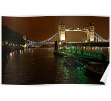 Tower Bridge & River Thames Poster