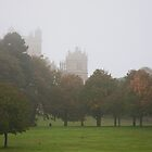 Wollaton Hall in the Mist by Elaine123