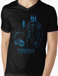 TRON legacy Mens V-Neck T-Shirt