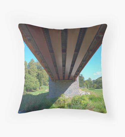 Pine Grove (1864) - Underneath Throw Pillow