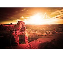 Red Canyon Photographic Print
