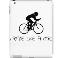 Ride Like A Girl iPad Case/Skin