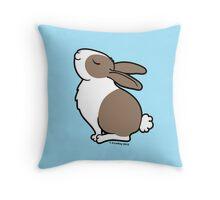 Proud Bunny Rabbit  Throw Pillow
