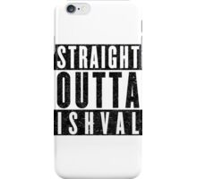 Ishvalan with Attitude iPhone Case/Skin