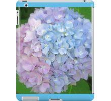 Multi-Colored Hydrangea iPad Case/Skin