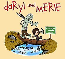 Daryl and Merle by BovaArt