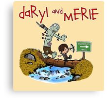 Daryl and Merle Canvas Print