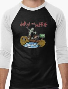 Daryl and Merle Men's Baseball ¾ T-Shirt