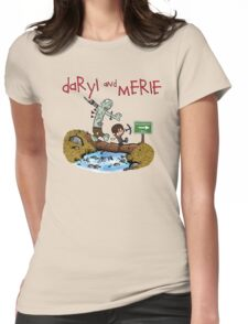 Daryl and Merle Womens Fitted T-Shirt