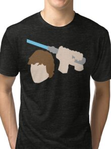 Jedi Knight Inspired Design Tri-blend T-Shirt