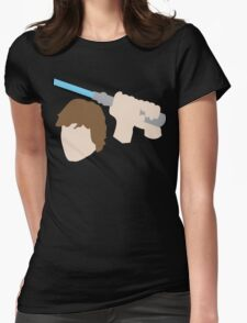 Jedi Knight Inspired Design Womens Fitted T-Shirt