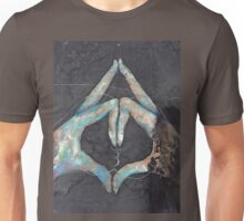 Ajna - third eye chakra mudra  Unisex T-Shirt