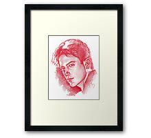 Baby Downey Framed Print