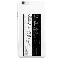 Alucard's Gun Inscriptions (Rotated) iPhone Case/Skin