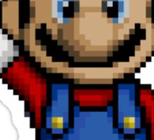 Mario Pixelart Sticker