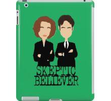 Skeptic or Believer? iPad Case/Skin