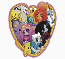 Adventure Time - Group Hug Kids Tee