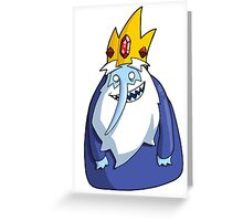 Adventure Time - Ice King Greeting Card