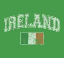 Vintage Ireland Flag Kids Tee