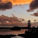Archipelago Sunset by Kasia Nowak