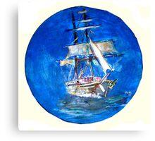 Ancient Vessel Canvas Print