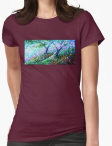 Healing Trees Womens Fitted T-Shirt