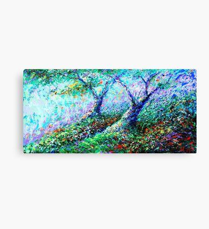 Healing Trees Canvas Print