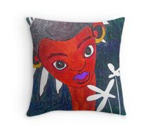 The Suitor of Fairy Elf Throw Pillow