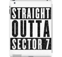 Sector 7 Represent! iPad Case/Skin