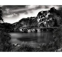 The Opal Lake #1 Photographic Print