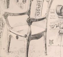 Esquisses décoratives Binet Rene 190x 0125 Siege Sticker