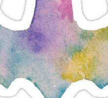 The Bat Watercolor (white) Sticker