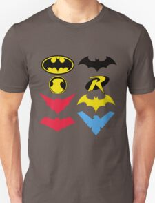 The Symbols of The Bat Family T-Shirt