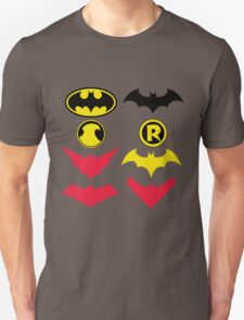 The Symbols of The Bat Family Variant T-Shirt