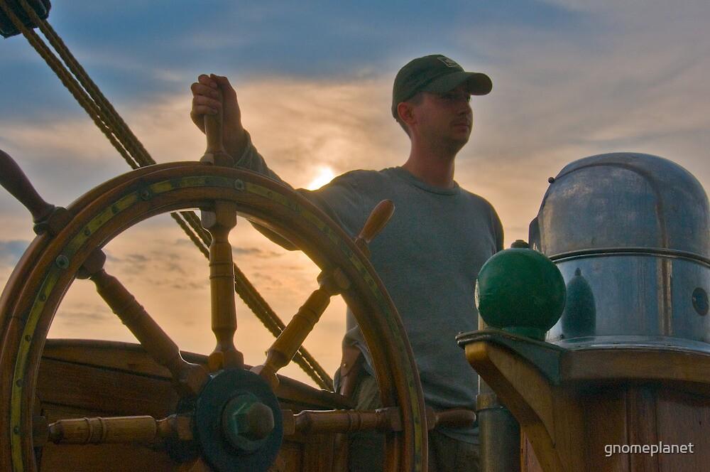 Tallship Sailing to Boston by gnomeplanet