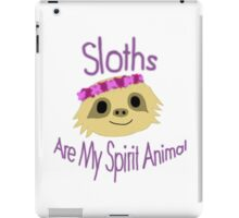 Sloth Design iPad Case/Skin