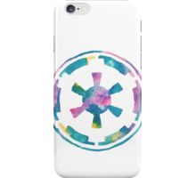 Watercolor Galactic Empire (white) iPhone Case/Skin