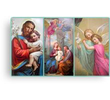 """Holy Image Collection featured in """"Living Christianity"""" & 2 more groups (see below) Metal Print"""