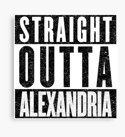 Alexandria Represent! Canvas Print