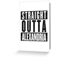 Alexandria Represent! Greeting Card