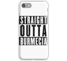 Burmecia Represent! iPhone Case/Skin