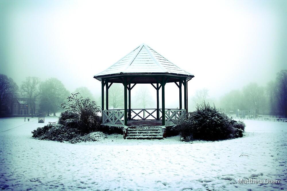 Winter Band Stand - Leighton Buzzard by Matthew Doerr