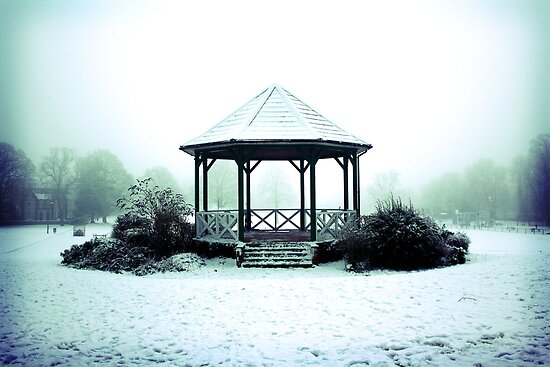 Winter Band Stand - Leighton Buzzard by Matthew Doerr