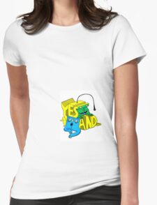 Yes And... Womens Fitted T-Shirt