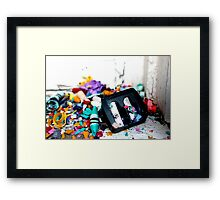 Childs Mess-Viewpoint Framed Print