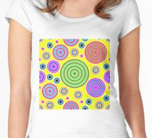 CIRCULAR-2 Women's Fitted Scoop T-Shirt